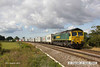 140816-027     Freightliner class 66/5 no 66556  is captured passing Hoby with diverted Intermodal 4L90, 09.11 Lawley Street to Felixstowe south F.L.T..