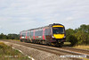140816-023     Cross Country Trains class 170 unit no 170522 passes Hoby with 1L00, the 07.07 Gloucester to Stansted Airport.