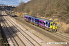 140117-009     Northern Rail class 158 unit no 158849 passes Hasland with 1Y25, the 11.05 Leeds to Nottingham.