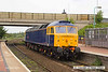 140702-009     GB Railfreight's hired-in class 47/8 n0 47815 Great Western speeds through Sutton Parkway with route learner 0Z60, the 13.45 Ironville Junction to Toton Centre.
