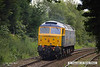 140702-012     GB Railfreight's hired-in class 47/8 n0 47815 Great Western speeds through Sutton Parkway with route learner 0Z60, the 13.45 Ironville Junction to Toton Centre.