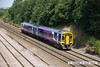 140725-027     Northern Rail class 158 unit no 158790 passes Hasland with 1Y29, the 12.05 Leeds to Nottingham.