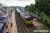 140704-034     DB Scchenker class 66/0 no 66194 is captured at Shirebrrok as it pulls away with train 4Z66, the 14.34 Shirebrook, WH Davis to Milford west sidings.