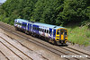 140606-025  Northern Rail class 158 unit no 158901 is seen passing Hasland with 1Y29, the 12.05 Leeds to Nottingham.