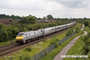140602-005     East Coast Trains class 91 no 91112 is seen from Beacon Hill Road bridge, Newark, powering 1S13, the 11.00 London King's Cross to Edinburgh.