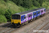 140630-049     Northern Rail class 150 unit no 150143 passes Hasland with 1Y44, the 16.18 Nottingham to Leeds.