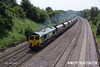 140606-008     Freightliner class 66/5 no 66511 passes Hasland, powering train 4E42, the 09.29 Rugeley to Barrow Hill up sidings, empty coal hoppers.