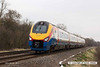 140310-009     East Midlands Trains class 222/1 unit no 222102 is seen passing Frisby with 1M06, the 09.26 Corby to Derby