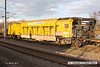 140301-035    Swedish Railvac no DR9970 9515 110-4, seen at Newark North Gate..