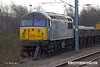 140301-019     DCR class 56 no 56312 Jeremiah Dixon is seen at Newark North Gate.