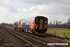 140301-001     A pair of East Midlands Trains class 153 units, led by 153310 are seen passing Rolleston with 2L67, the 11.26 Leicester to Lincoln.