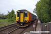 140520-001     East Midlands Trains class 156 unit no 156470 is seen pulling into Bleasby with 2L64, the 12.30 Lincoln to Leicester.