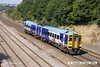 140908-011     Northern Rail class 158/9 no 158906 is seen passing Hasland with 1Y32, the 13.17 Nottingham to Leeds.