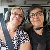 Gilda and Nanda ready for the ride