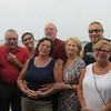 9 divers on our boat. Warren, Leo, Nanda, Laufa, Bill, Gilda Rudi, Lenore, and Scott