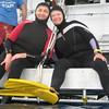 Nanda and Gilda ready to dive