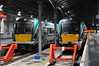 22011 & 22047 stabled at Heuston. 22011 had worked the 1815 ex Westport & 22047 the 2025 ex Portlaoise. Wed 09.04.14