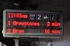 Customer Information Screen at Tara Street. Sun 14.12.14