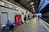 Passengers wait for the 1505 Tralee - Mallow at Killarney. Fri 12.12.14