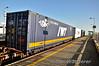 IWT Container. 0935 North Wall - Ballina Liner at Portarlington. Tues 02.12.14
