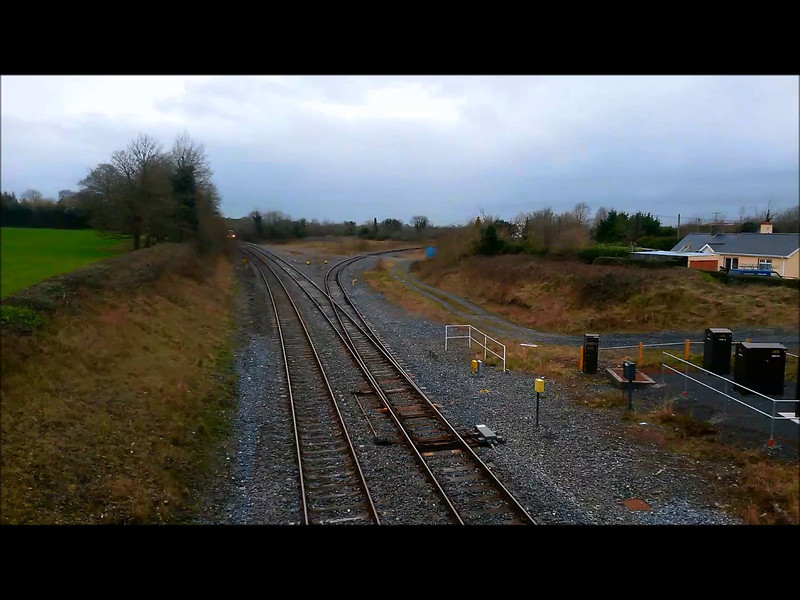 22022 1420 Cork - Heuston at Portarlington. Sun 24.02.14