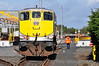 075 was soon on the move to do some shunting in the yard. Portlaoise. Thurs 20.02.14