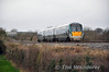22056 has just left the depot at Portlaoise and is working the 1420 Portlaoise - Heuston service. It is pictured at Killinure near Monastervin. Sat 22.02.14