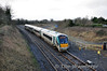 "The last remaining 4ICRPC set, 22034 is seeing out its final days in its current configuration. It is pictured at Portarlington with the 1220 Cork - Heuston service. Sat 08.02.14 <br><br> Finnyus also braved the weather to photograph this service leaving Cork. <a href=""http://www.flickr.com/photos/finnyus/12384879363/in/photostream"" target=""_blank"">Click here</a> to view."