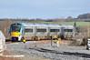 22021 arrives into Portarlington with the 1320 Heuston - Portlaoise. Fri 28.02.14