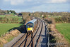 22062 has just crossed over to the Up Line at Cherryville Jct. with the 1450 Waterford - Heuston. Thurs 20.02.14
