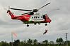 Irish Coastgyard Helicopter EI-ICA. Limetree. NMAI fly-in. Sun 03.08.14
