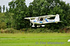 G-CEFA lands at Limetree. NMAI fly-in. Sun 03.08.14