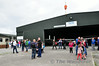 The crowd awaiting the arrival of EI-ICA. Sun 03.08.14