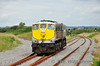 072 backs on to its train prior to departure with the delayed 1010 Rosslare Strand - Waterord Weedspray Train, Mon 21.07.14