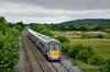 22036 1500 Heuston - Cork passes Ballykillane between Portarlington & Portlaoise. Sat 12.07.14