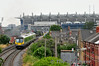 29020 departs Drumcondra. 1143 Pearse - Maynooth. The Stadium in the backround is Croke Park, home of G.A.A. Gaelic Games. Fri 11.07.14