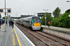 22020 passes Ballybrophy with the 1620 Cork - Heuston. Sat 19.07.14