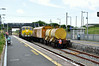 072 runs around its train at Rosslare Strand. Mon 21.07.14