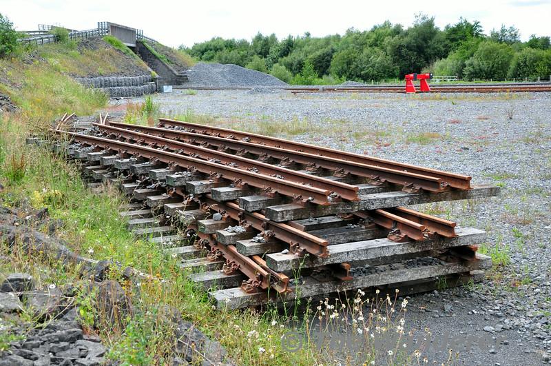 Redundant track at Lisduff. Sun 13.07.14