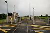 Lavistown Level Crossing looking towards Cherryville Jct. Fri 18.07.14
