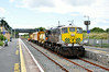 072 at Rosslare Strand. 1010 Rosslare Strand - Waterord Weedspray Train, Mon 21.07.14