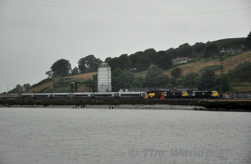 22046 + 22049, 079 and 083 at Waterford Sally Park. Fri 18.07.14