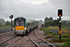 22036 arrives at Ballybrophy. 1705 Heuston - Tralee. Sat 19.07.14