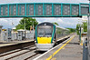 22050 arrives at Monastervin with the 1530 Heuston - Portlaoise Commuter service. Mon 02.06.14