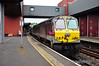207 waits to propell the 1605 Belfast Central - Dublin Connolly service. Thurs 12.06.14