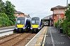 4014 & 4018 at Whitehead. 4018 was working the 1045 to Great Victoria Street and 4014 was the 0945 Great Victoria Street - Larne Harbour. Thurs 12.06.14