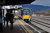22012 arrives at Limerick Jct. with the 1300 Heuston - Cork. Sat 01.03.14