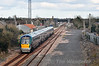 22016 passes Ballybrophy with the 1420 Cork - Heuston. Sun 23.03.14