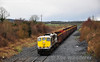 The 1130 Waterford - Westport Empty Timber passes Hybla between Cherryville Jct. & Monastervin with 081 in charge. Sat 22.03.14