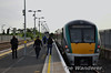 Passengers join 22005 at Newbridge prior to departure of the 0735 to Heuston. Fri 16.05.14